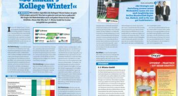 Zeitungsartikel mit F.F. Winter