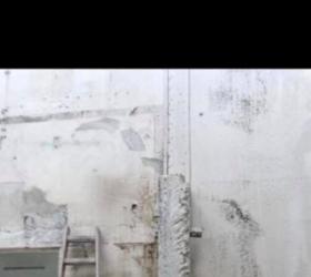 Betonsanierung einer Wand
