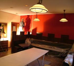 Zimmer im Umbau